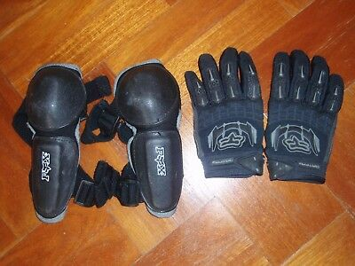 Fox Kid's Motorbike Riding Gloves and Elbow Pads
