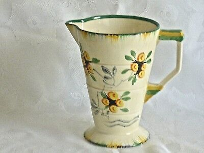 Magnificent Art Deco Hand Painted Jar By Grindley England C 1930's