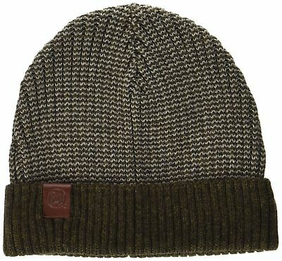 (TG. Taglia unica) Buff Knitted Hat Dee Berretto, Brown, One size (d8g)