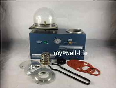 Jewelry Lost Wax Cast Combination Vacuum Investing Casting Investment Machine m