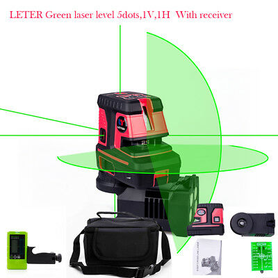 NEW LETER Green laser spot Self Levelling  laser level With laser receiver