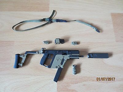 1/6 VTS Virtual Toys The Dark Zone Agent Kriss Vector Rifle   Mint,out of Box