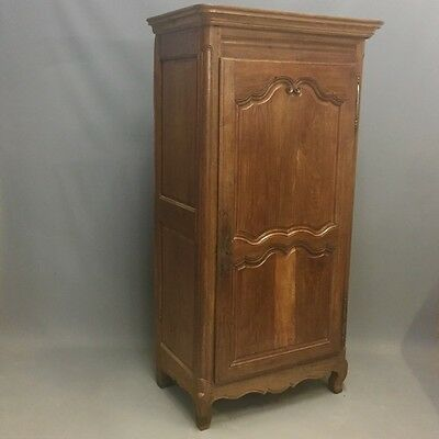 Louis XV Oak SIngle Door Armoire   Ref  a2584