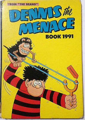 The Beano DENNIS THE MENACE 1991 Annual Fair Condition **Free UK Postage**