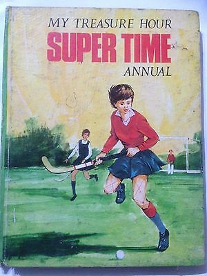 My Treasure Hour Super Time Annual. 1969 Good Condition **Free UK Postage**