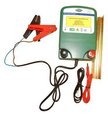 ELECTRIC FENCE 12v  ENERGISER FENCER  BATTERY POWER 0.6J (2 YEAR WARRANTY!)