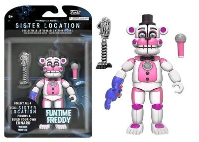 5 Nights at Freddy's Action Figure - Sister Location Funtime FREDDY - Brand New