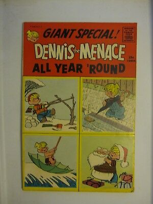 Dennis the Menace  All Year Round 1965 Fawcett