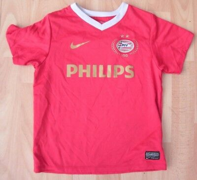 Psv Eindhoven Home Nike Football Soccer Shirt Jersey Top Boys 4-5 Years