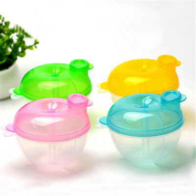 Infant Baby Formula Milk Powder Dispenser Storage Snack Box Food Container Pot