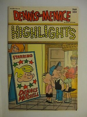 Dennis the Menace Highlights 1969  Fawcett