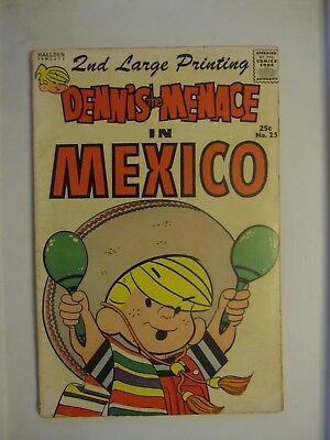 Dennis the Menace in Mexico  Hallden / Fawcett No. 25