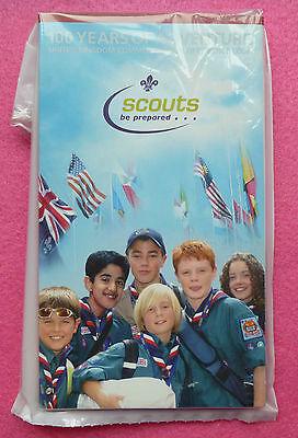 2007 Royal Mint 100Th Ann. Of The Scouts Fifty Pence 50P Bu Coin In Sealed Pack