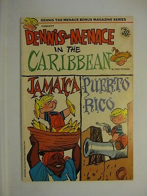 Dennis the Menace in the Caribbean by Hank Ketchum     Fawcett