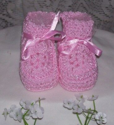 Little Pink Baby Booties Baby Shower Games 0-3 month Baby Shoe Green Blue Yellow
