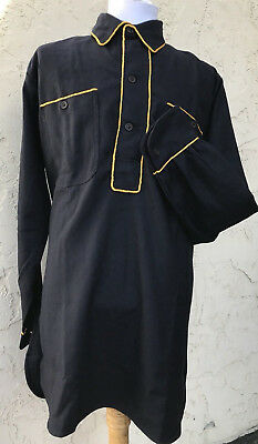 US Army M1881 Blue Wool Cavalry Shirt Size 46