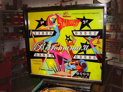 """STARDUST"" Flipper Williams 4 player 1971 ""LOOK THIS"""