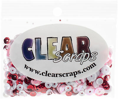 Clear Scraps Sequin Multi Pack 350 To 400 Pieces-Lovely