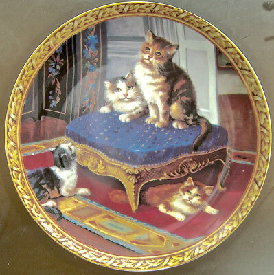 Vintage Cat Plate Regency Kittens Collections Where Has It Gone?
