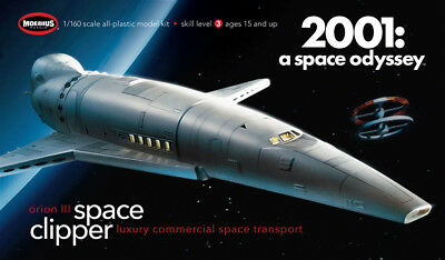 Space Clipper Orion III 2001 a space odyssey 1:160 Model Kit Moebius 2001-2