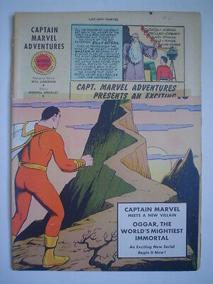2x CAPTAIN MARVEL 61 1946 Chapt 1 of OGGAR CURSE 52-p & WHIZ 132 1951 Both GSI=5