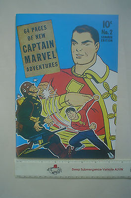 CAPTAIN MARVEL 2 1941 (FLASHBACK # 15, 1974) Total GEORGE TUSKA. PRISTINE MINT