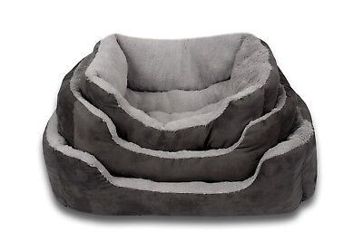 Luxury Deluxe Dog | Cat | Pet Bed Soft, Washable, Extra Thick with Fleece Lining