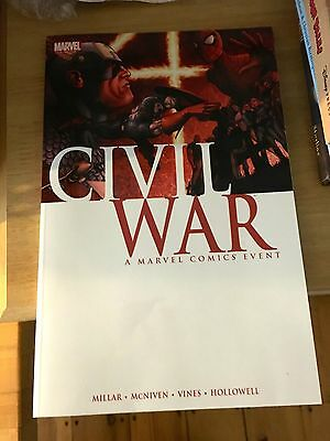 Civil War: A Marvel Comics Event by Mark Millar Paperback Book (English) 2015