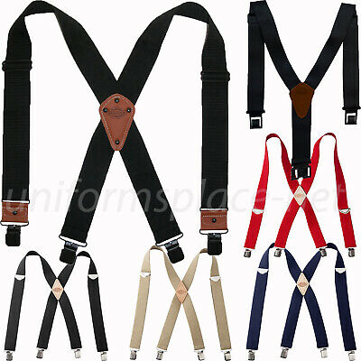 Dickies Suspenders adjustable Clip-on, Belt clip Suspender Belt Color