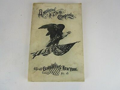 1906 American Flag Company Catalog banners pennants