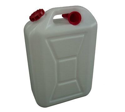 4 X 5L Plastic Jerry Can Pourer Water Liquid Bottle Food Grade 5LT 5 Litre