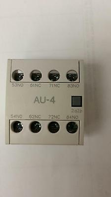 New In Original Package Ls Industrial Systems Au-4 Auxiliary Contactor Unit