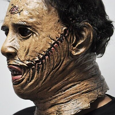 The Texas Chainsaw Massacre Leatherface Masks Scary Halloween Cosplay Costume