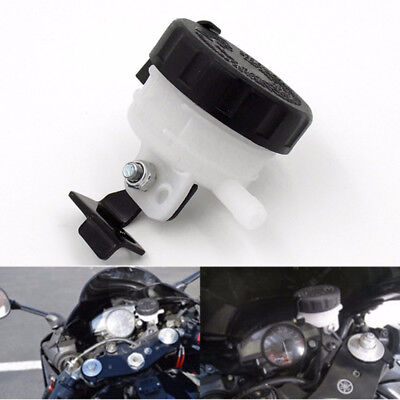 Universal Brake Reservoir Fluid Front Bottle Motorcycle Master Cylinder Bracket*