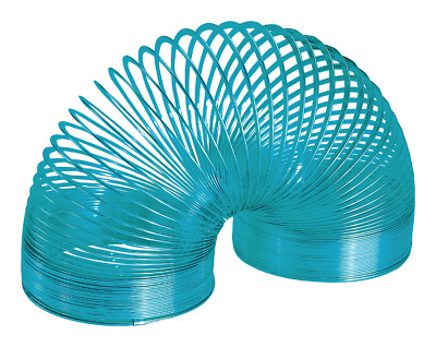 Metal Colour Slinky Classic Fun Kids Toy Walks, Flips and Bounces - Made in USA