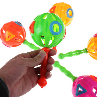 Baby Rattles Educational Toy Plastic Hand Shake Bell Ring Toys HU