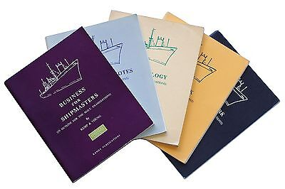 SET of FIVE 1960s shipping manuals by KEMP & YOUNG - paperback - maritime
