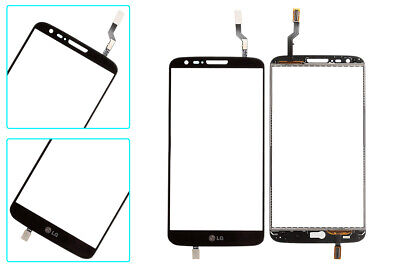 Black Touch Screen Digitizer Glass Replacement for LG G2 D800 D801