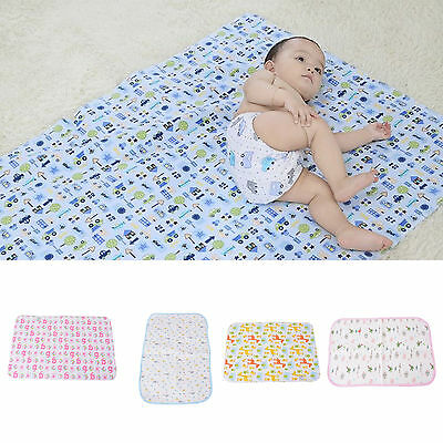 Baby Infant Diaper Nappy Urine Mat Kid Waterproof Bedding Changing Cover Pad US