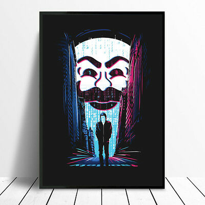 Mr Robot Art Poster Print A4 A3 Us Tv Show Worldwide Postage For £2.50