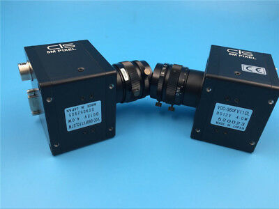 1pcs VCC-G60FV11CL CIS industrial cameras tested Used