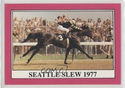 1991 Horse Star Kentucky Derby #103 Seattle Slew MiscSports Card