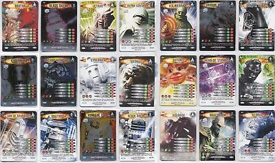 Dr Doctor Who Battles in Time Ultimate Monsters full 225 card set MINT
