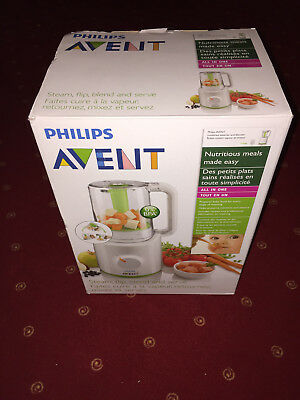 Philips Avent SCF870/20 Dampfgarer + Mixer ALL IN One Sehr guter Zustand