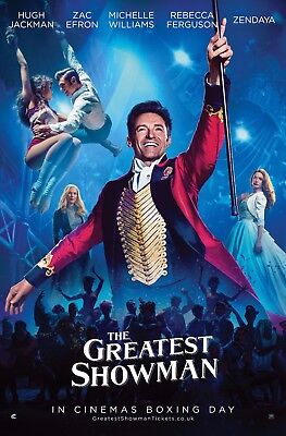 The Greatest Showman Poster A4 A3 A2 A1 Cinema Movie Large Format