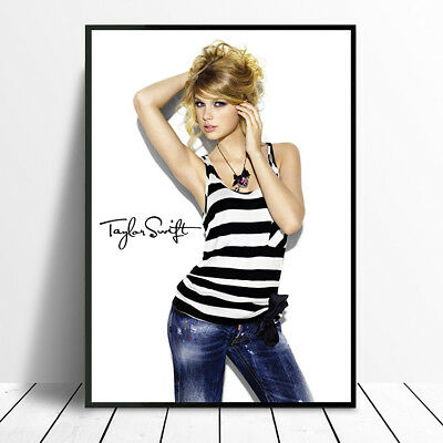 Signed Taylor Swift Poster Print Photo A4 A3  Designer Fashion Christmas Gift