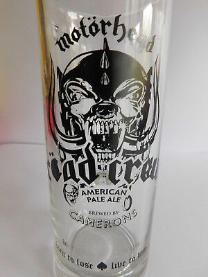 * Motorhead Road Crew Pint Tankard / Glass * Official Item * Lemmy Ace Of Spades