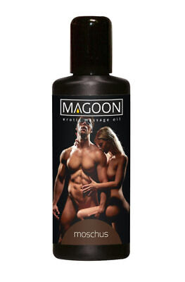 Magoon Moschus Aroma Erotik Massageöl 100 ml ertisches Massage Öl Wellness Sex