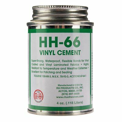 HH-66 PVC 4 oz Super Strong Vinyl Cement Glue with Brush