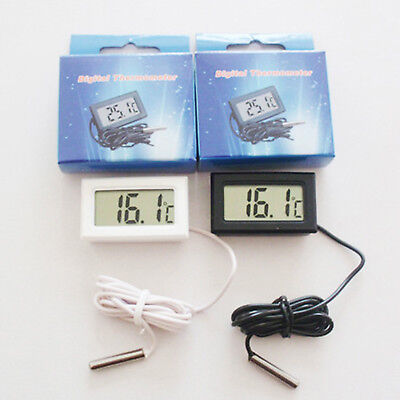 Mini Digital LCD Display Thermometer Hygrometer Fridge Freezer Temperature